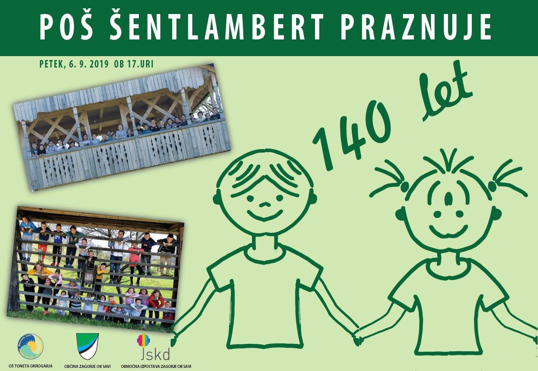 140 let POŠ Šentlambert